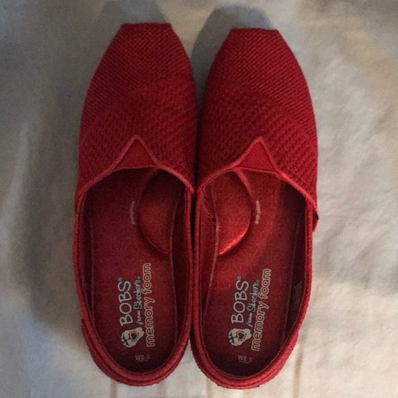 Skechers Shoes | Red Bobs By Skechers